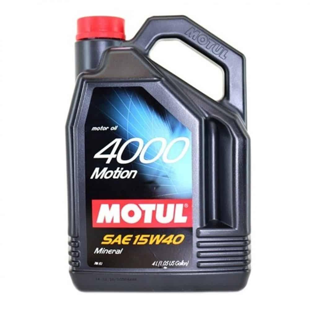 Масло MOTUL 4000 MOTION 15W40 4L