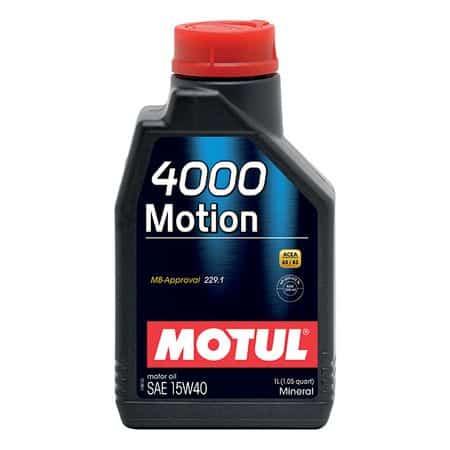 Масло MOTUL 4000 MOTION 15W40 1L