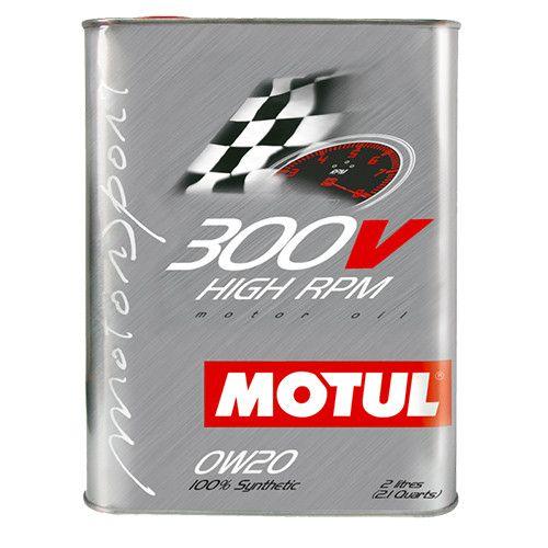 Масло MOTUL 300V HIGH RPM 0W20 - 2 литра