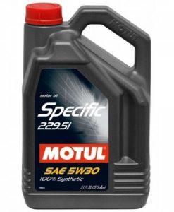 Масло Motul SPECIFIC 229.51 5W30 5L