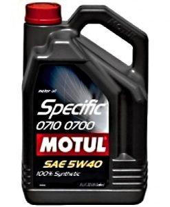 Масло Motul SPECIFIC 0710 0700 5W40 5L