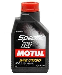 Масло Motul SPECIFIC 506 01 / 506 00 / 503 00 0W30 1L