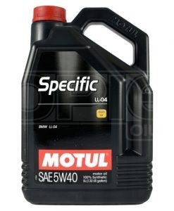 Масло MOTUL SPECIFIC LL-04 5W40 5L