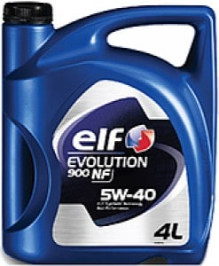 Масло ELF EVOLUTION 900NF 5W40 - 4 литра
