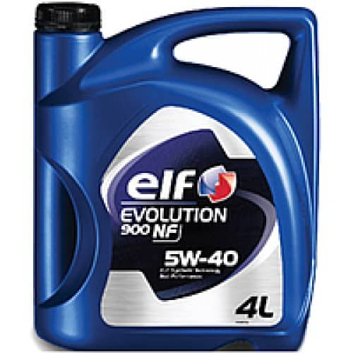 Масло ELF EVOLUTION 900NF 5W40 - 4 литра