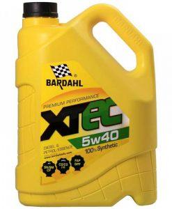 Масло BARDAHL XTEC 5W40 5L