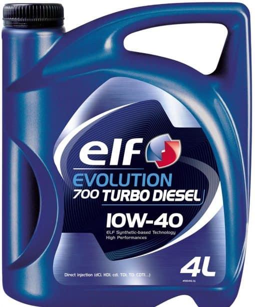 Масло за дизел ELF EVOLUTION 700TD 10W40 - 4 литра