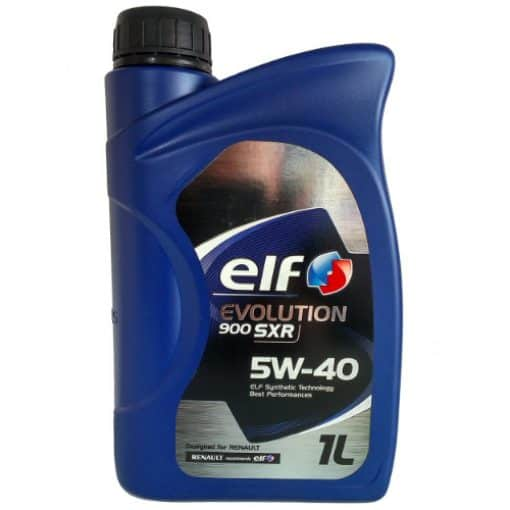 Масло ELF EVOLUTION SXR 5W40 1L
