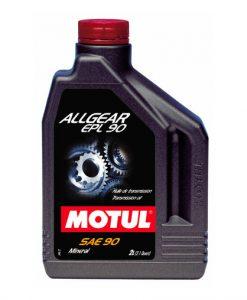 Трансмисионно масло MOTUL ALLGEAR EPL 90 - 2L
