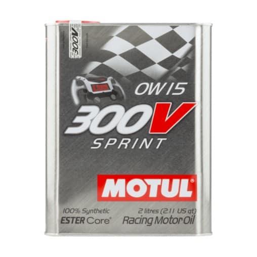 Масло MOTUL 300V SPRINT 0W15 - 2 литра