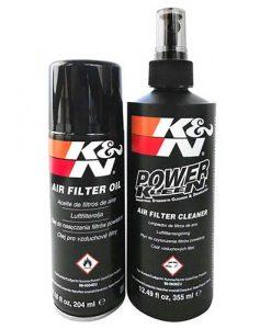 Комплект масло + почистващ препарат за въздушни филтри K&N