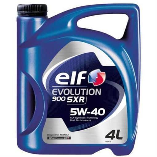 Масло ELF EVOLUTION SXR 5W40 4L