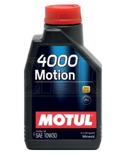 Масло MOTUL 4000 MOTION 10W30 1L