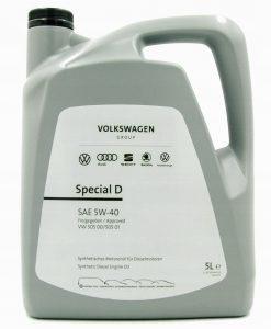 Оригинално масло VOLKSWAGEN G 052 505 SPECIAL D 5W40 5L
