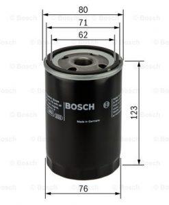 Маслен филтър (0 451 103 033 - BOSCH)
