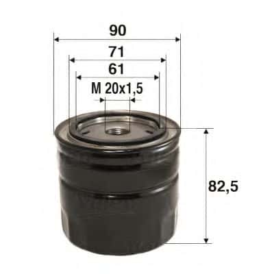 Маслен филтър (586016 - VALEO)Маслен филтър (586016 - VALEO)