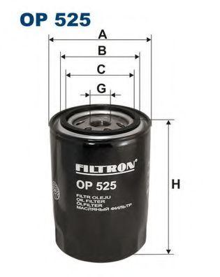 Маслен филтър (OP 525 - FILTRON)