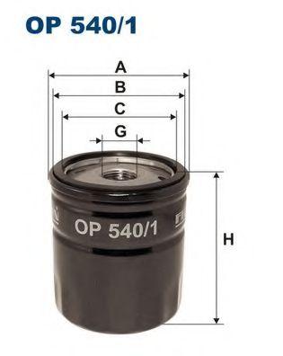 Маслен филтър (OP 540/1 - FILTRON)