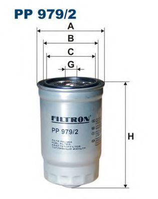 Горивен филтър (PP 979/2 - FILTRON)