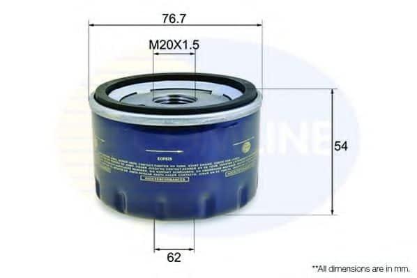 Маслен филтър (EOF025 - COMLINE)