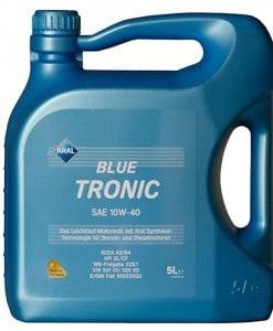 Масло Aral Blue Tronic 10w40 - 5 литра