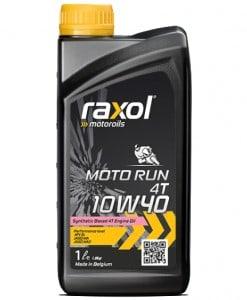 Масло RAXOL MOTO RUN 4T 10W40 1L
