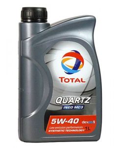 Масло TOTAL QUARTZ INEO MC3 5W40 - 1L