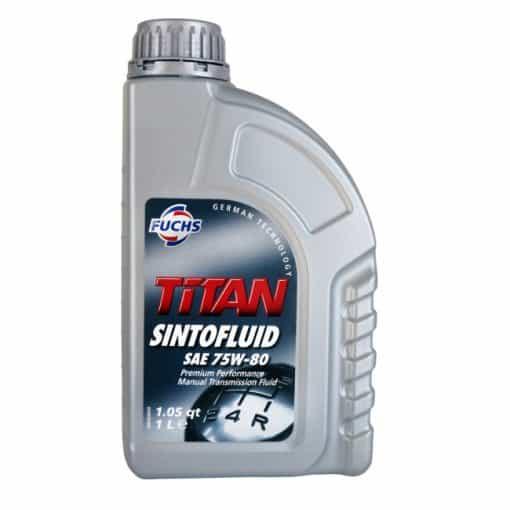 Трансмисионно масло FUCHS TITAN SINTOFLUID 75W80 1L