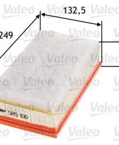 Въздушен филтър (585100 - VALEO)