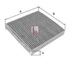 Филтър, въздух за вътрешно пространство (S 4176 CA - SOFIMA)