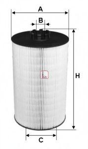 Маслен филтър (S 5019 PE - SOFIMA)