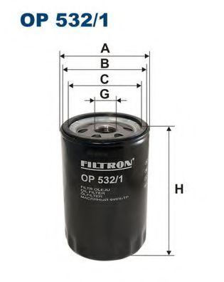Маслен филтър (OP 532/1 - FILTRON)