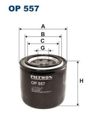 Маслен филтър (OP557 - FILTRON)