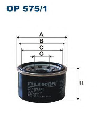 Маслен филтър (OP 575/1 - FILTRON)