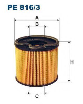 Горивен филтър (PE816/3 - FILTRON)