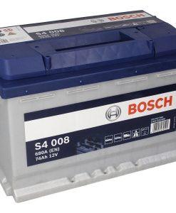 Акумулатор BOSCH SILVER S4 74AH 680A R+