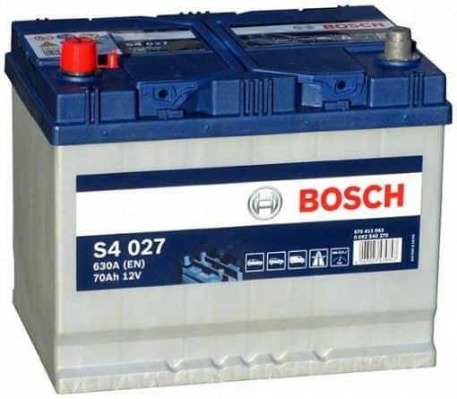 Акумулатор BOSCH ASIA SILVER S4 70AH 630A L+