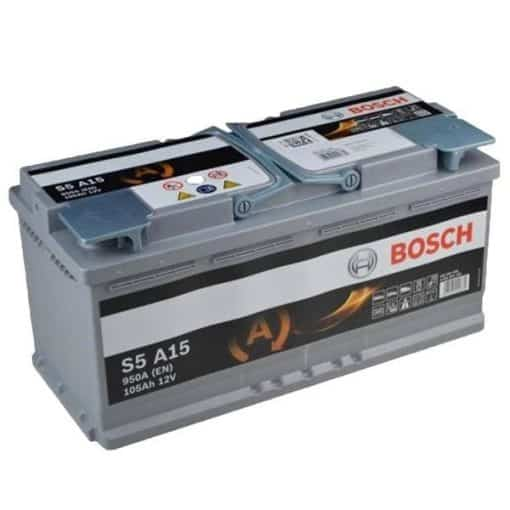 Акумулатор BOSCH S5 AGM 105AH 950A R+