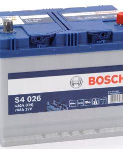 Акумулатор BOSCH ASIA SILVER S4 70AH 630A R+