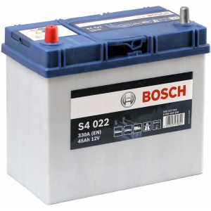 Акумулатор BOSCH ASIA SILVER S4 45AH 330A L+ T3