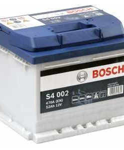 Акумулатор BOSCH SILVER S4 52AH 470A R+
