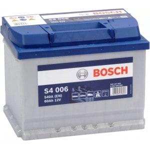 Акумулатор BOSCH SILVER S4 60AH 540A L+