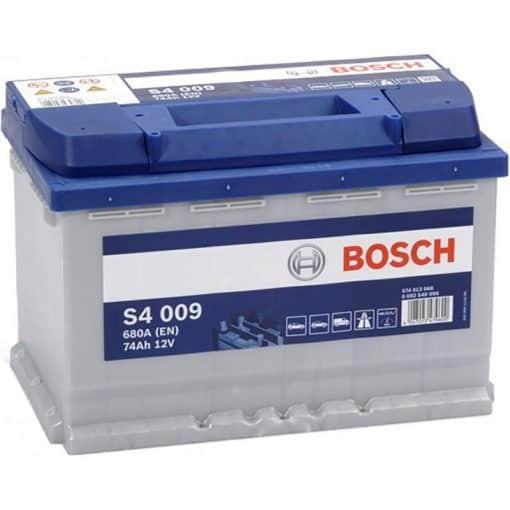 Акумулатор BOSCH SILVER S4 74AH 680A L+