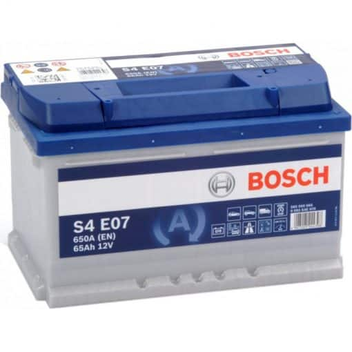 Акумулатор BOSCH SILVER S4 EFB 65AH 650A R+