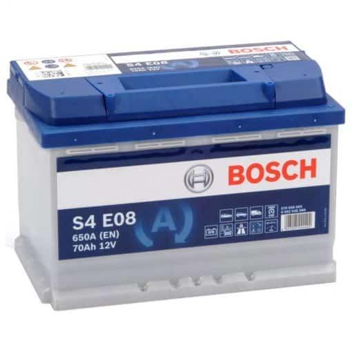 Акумулатор BOSCH SILVER S4 EFB 70AH 650A R+