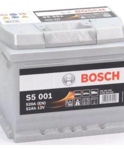 Акумулатор BOSCH SILVER S5 52AH 520A R+