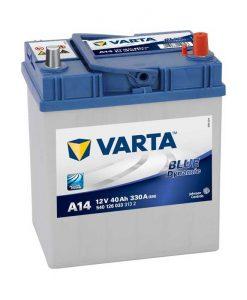 Акумулатор VARTA BLUE DYNAMIC 40AH 330A R+ JIS