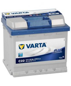 Акумулатор VARTA BLUE DYNAMIC 52AH 470A R+