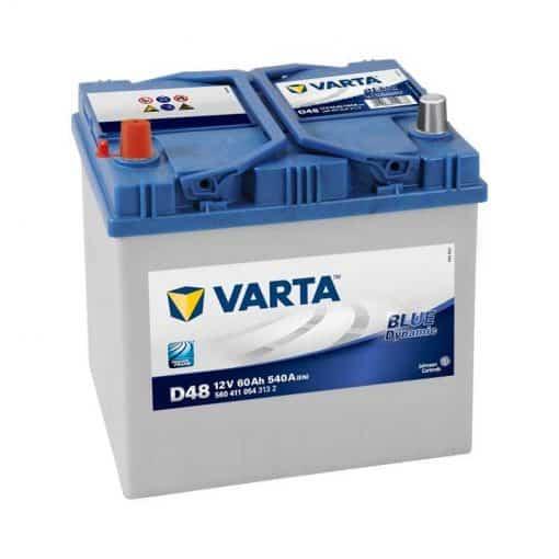 Акумулатор VARTA BLUE DYNAMIC 60AH 540A L+ JIS