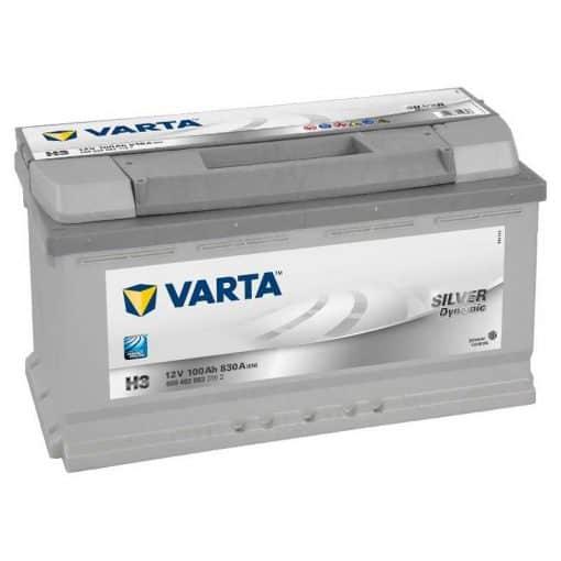 Акумулатор VARTA SILVER DYNAMIC 100AH 830A R+
